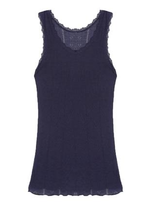 Navy Blue - Undershirt