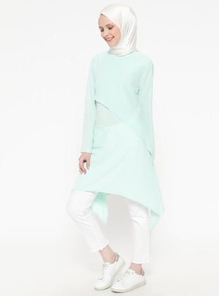 Mint - Polo neck - Tunic
