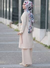 Beige - Unlined - Suit