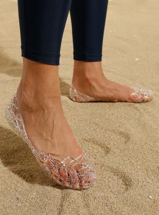 Sandal - Sandal - Pembe Potin