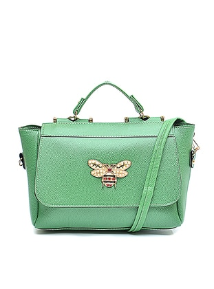 Green - Shoulder Bags - Benny Louise 437294