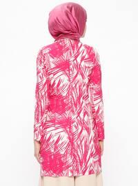 Pink - Multi - Unlined - Shawl Collar - Jacket