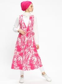 Pink - Multi - Unlined - Vest