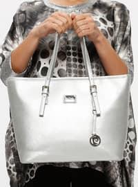 Silver tone - Shoulder Bags - Pierre Cardin