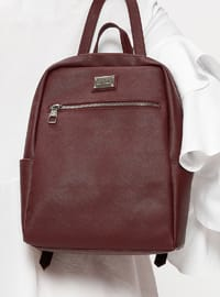 Purple - Maroon - Plum - Backpacks - Pierre Cardin