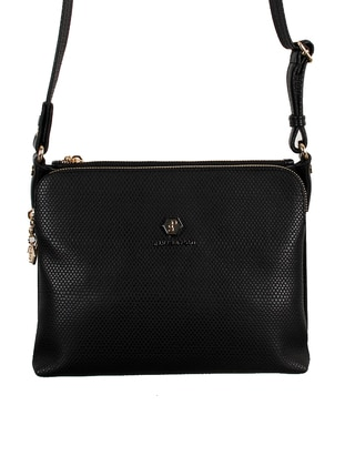 Black - Shoulder Bags - Silver Polo 438271