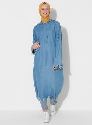 Blue - Denim - Tunic