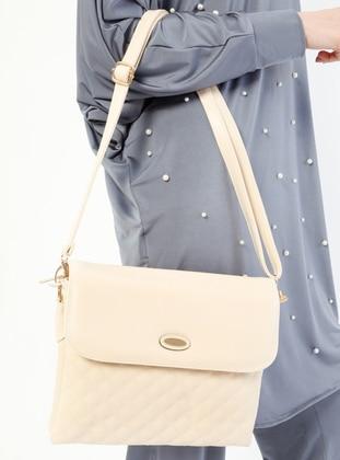 Ecru - Shoulder Bags - Kayra By Kyr