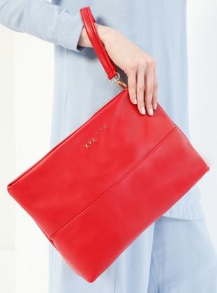 Red - Clutch Bags / Handbags - Kayra By Kyr