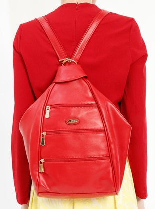 Red - Backpacks - Kayra By Kyr