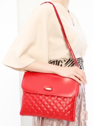Red - Shoulder Bags - Kayra By Kyr