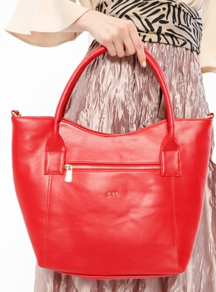 Red - Shoulder Bags - Kayra By Kyr