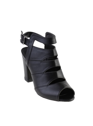 Black – High Heel – Sandal – Shoes – Bambi