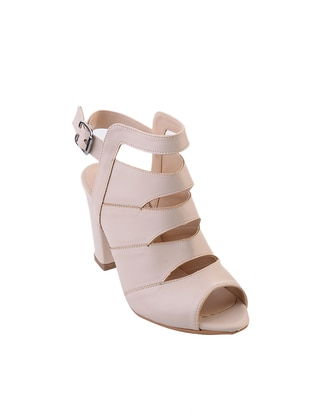Beige – Sandal – Shoes – Bambi