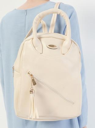 Ecru - Backpacks - Kayra By Kyr