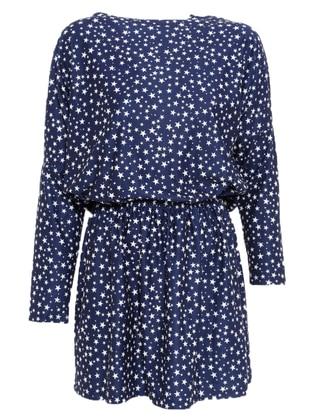 Sırtı Detaylı Elbise - Lacivert - Koton Ürün Resmi