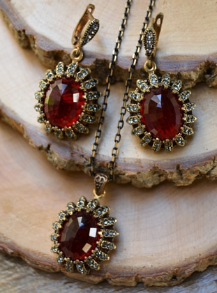 Red - Accessories Set - Stoneage
