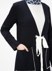 Navy Blue - Unlined - Jacket