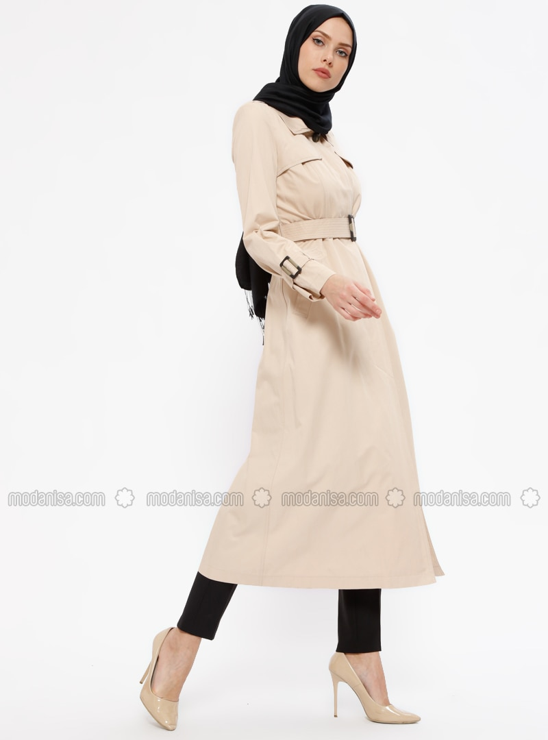 Minc - Unlined - Point Collar - Trench Coat