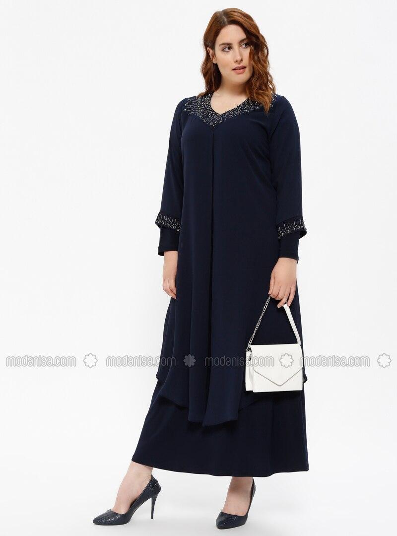 Plus Size Modest Evening Dresses Archives — Styleneur