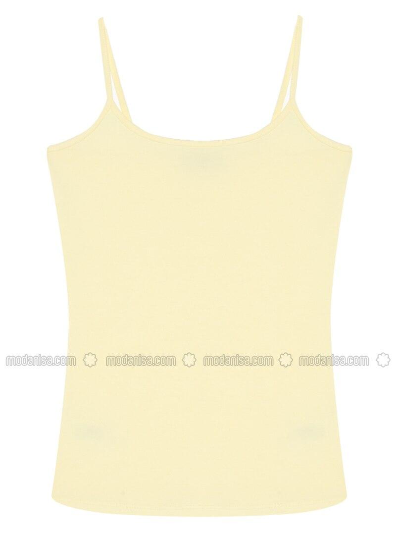 Yellow - Undershirt