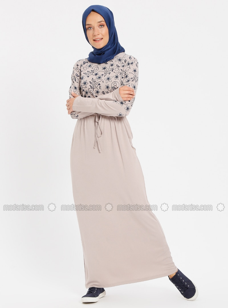 Minc - Multi - Crew neck - Unlined - Viscose - Dresses
