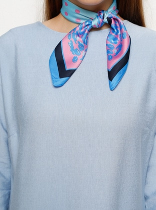 Turquoise - Printed - Scarf