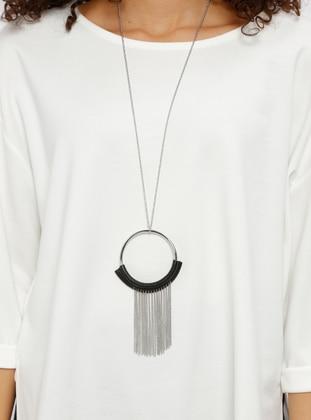 Kolye - Siyah - Koton Ürün Resmi
