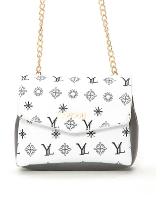 White - Silver tone - Shoulder Bags