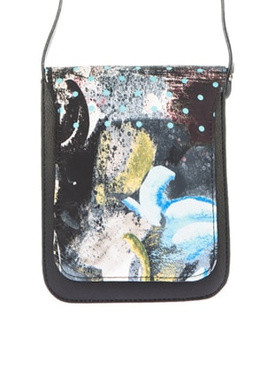 Omuz Çantası - Petrol Yeşili Motivli - Housebags Ürün Resmi