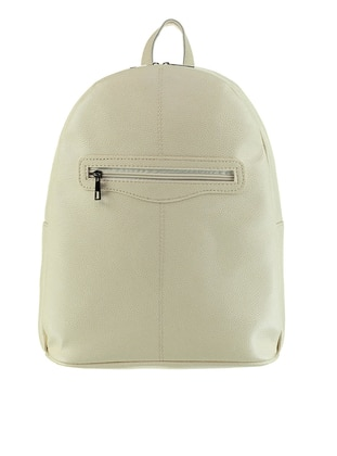White - Ecru - Backpacks