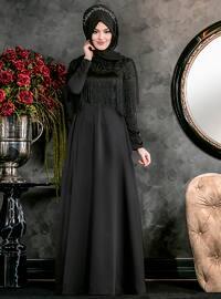 Nağme Abiye Elbise - Siyah - An-Nahar