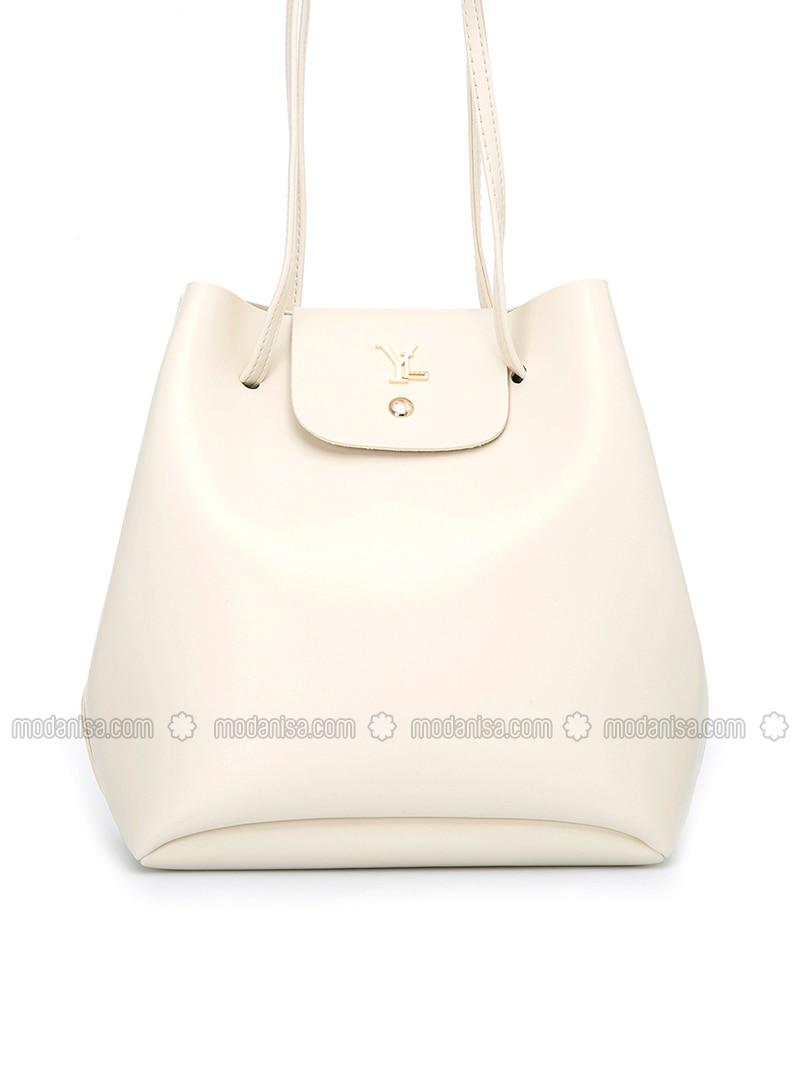 White - Ecru - Backpacks