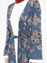 Indigo - Multi - Unlined - Suit