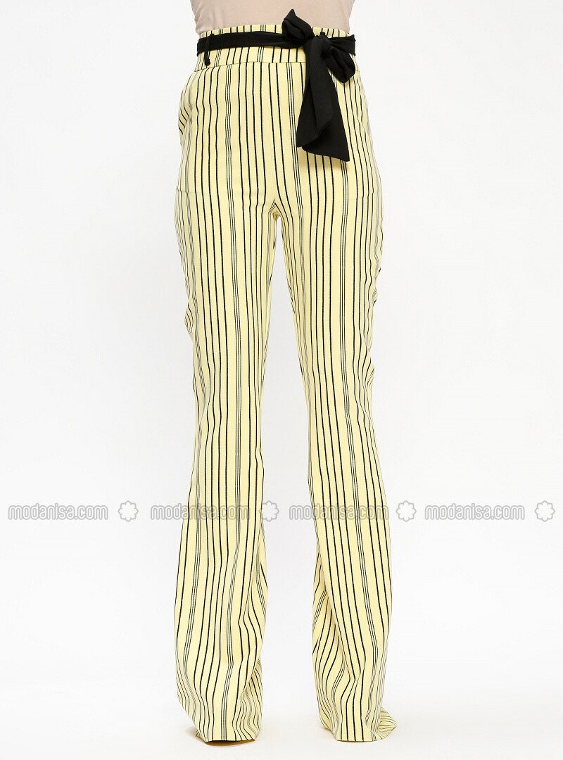 for sale agreatvarietyofmodels official sale Yellow - Stripe - Pants