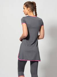 Gray - Half Covered Switsuits