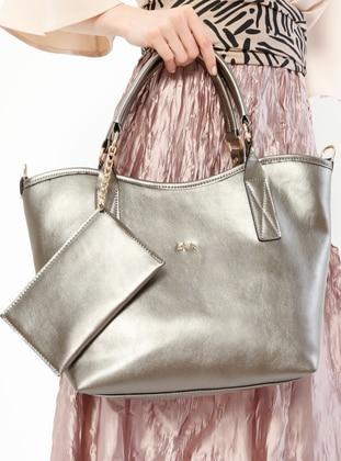 Gray - Shoulder Bags - Kayra By Kyr