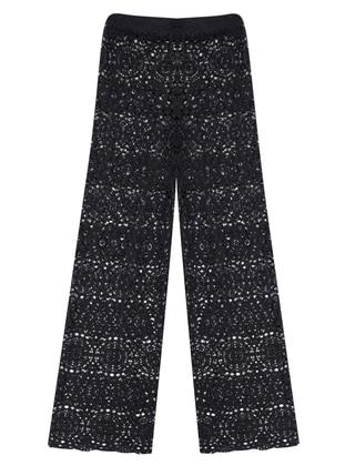 Pantolon Pareo - Siyah - AQUELLA Ürün Resmi