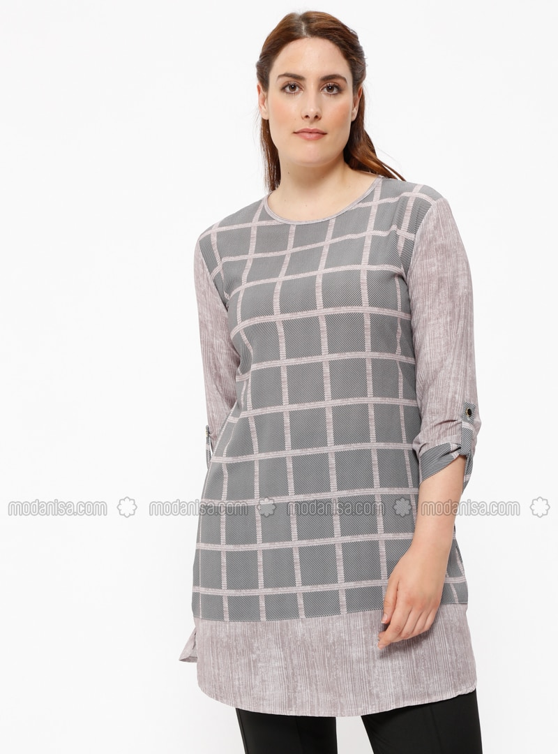 64763732f How To Wear A Plaid Shirt Plus Size | Top Mode Depot