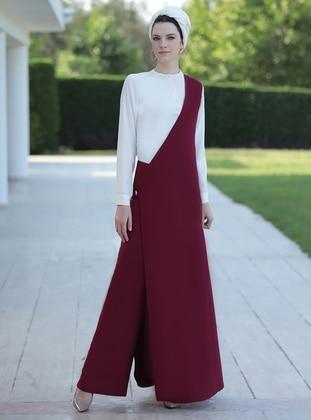 Salopet Tulum - Mürdüm - Selma Sarı Design Ürün Resmi