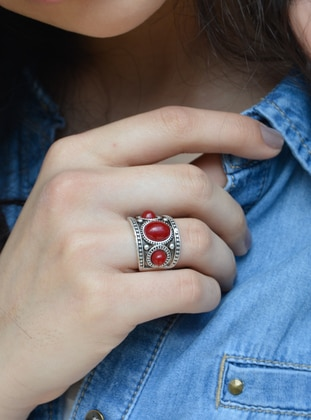 Maroon - Ring - Stoneage