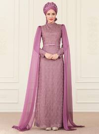 Behra Abiye Elbise - Lila - An-Nahar