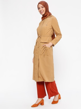 Camel - Unlined - Topcoat