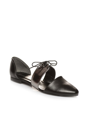 Black – Silver Tone – Casual – Shoes – Shoestime