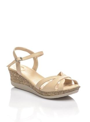 Beige – Sandal – Sandal – Shoestime