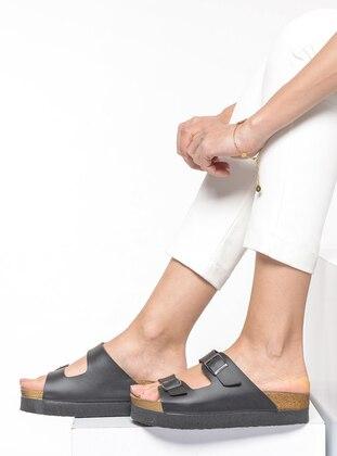 Black – Sandal – Slippers – Shoestime