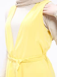 Yellow - Unlined - Vest