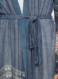 Navy Blue - Multi - Unlined - Suit