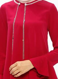 Fuchsia - Crew neck - Tunic