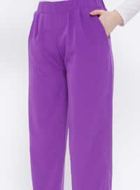 Purple - Pants